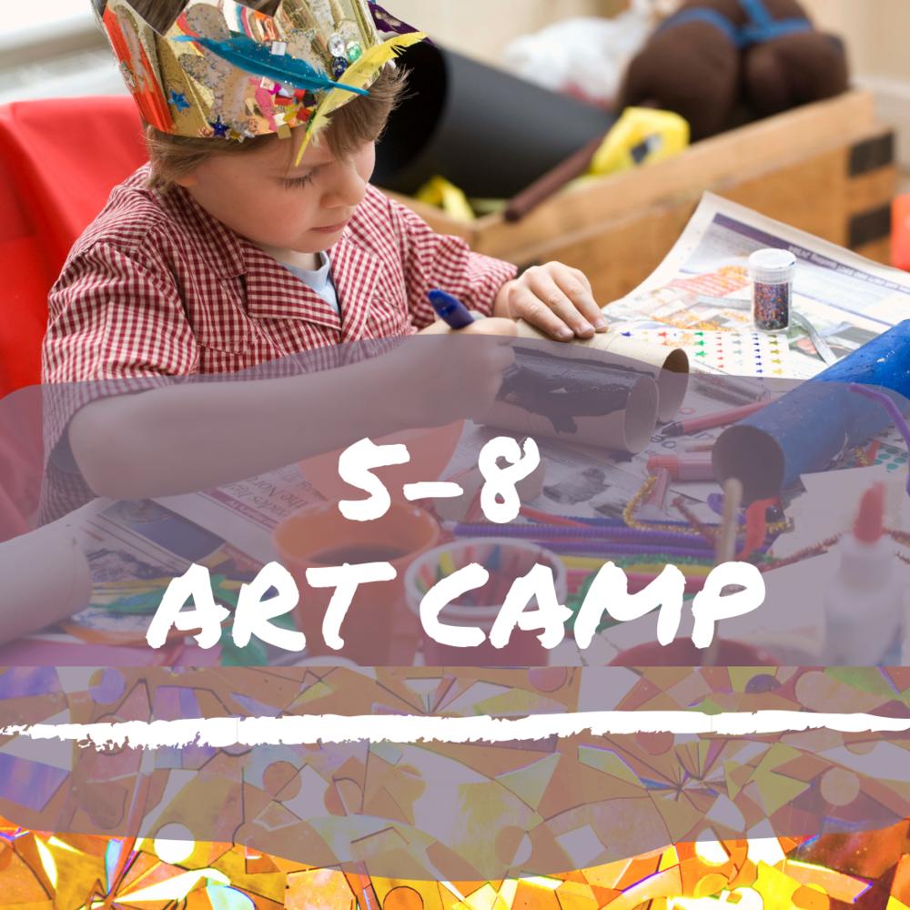 5-8 Art Camp