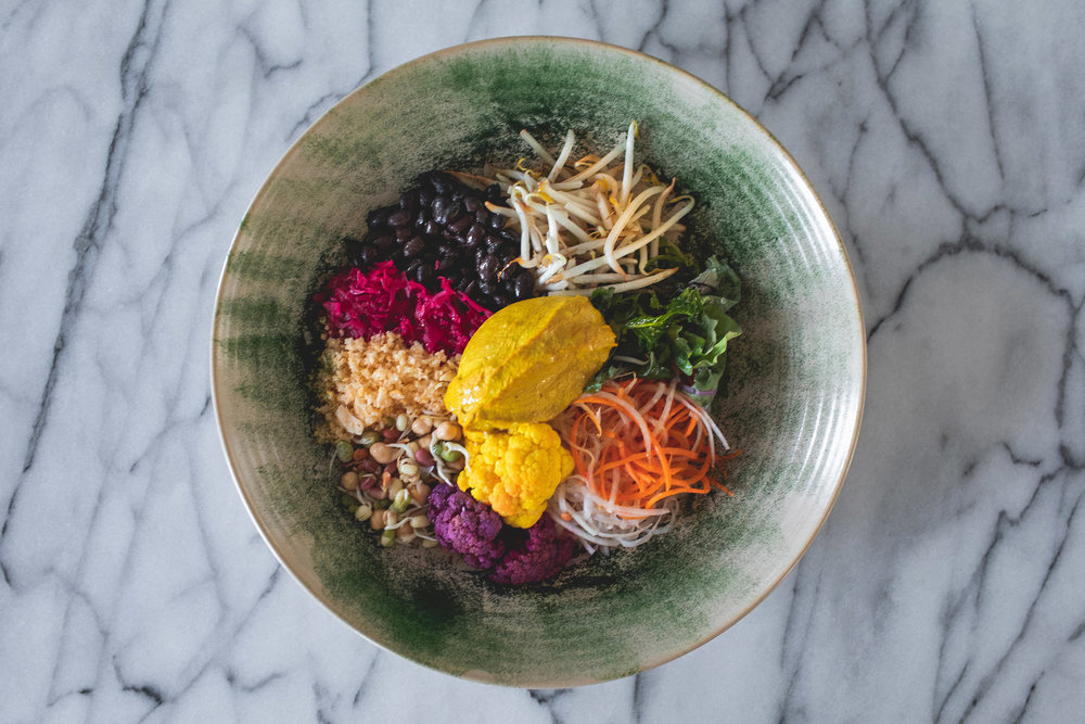 Maten er kjempegod på Soho House. De har en god vegansk meny! Courtesy of Soho House.