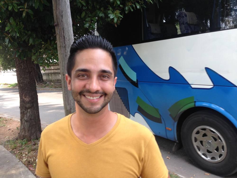 Cuban telenovela star, Enrique Bueno.