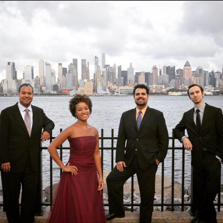 Ilmar Gavilan's Harlem String Quartet, bringing jazz and classical excellence to underserved kids.