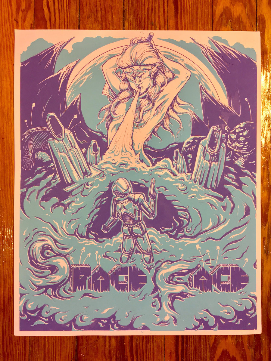 Purple Mountain Poster.