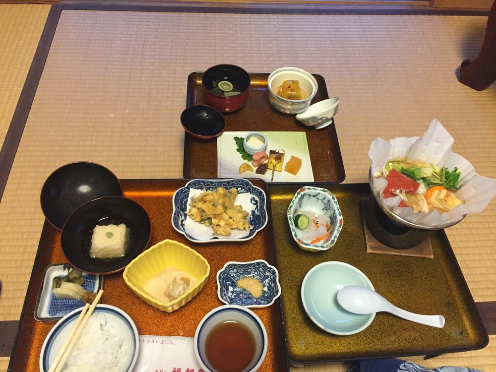 vegan and plant-based eats in Koyasan Japan. Close to Kyoto