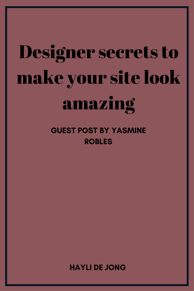 Design your website | Branding tips for beginners | designer secrets | Brand your blog | brand your website