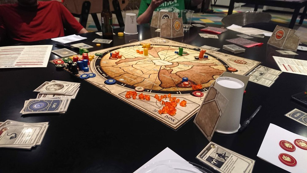 July 28 - Digital  Dune board game