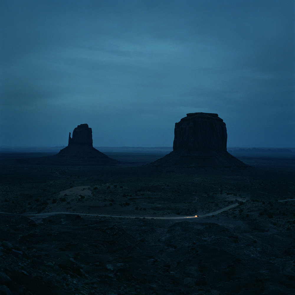 MONUMENT VALLEY, 2009 | 56 x 56""