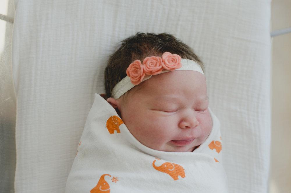 Gilbert, AZ Hospital Fresh 48 Newborn Session - Fine Art Photographer