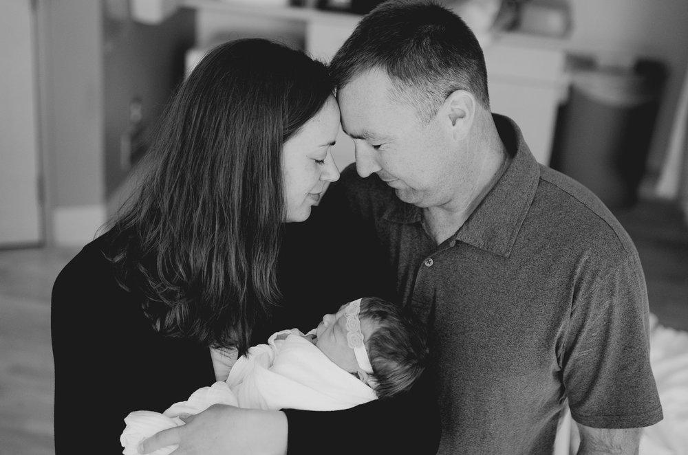 East Valley, AZ Hospital Fresh 48 Newborn Session - Bright Photos