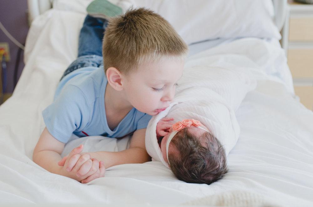 Gilbert, AZ Hospital Fresh 48 Newborn Session - Elegant Photos