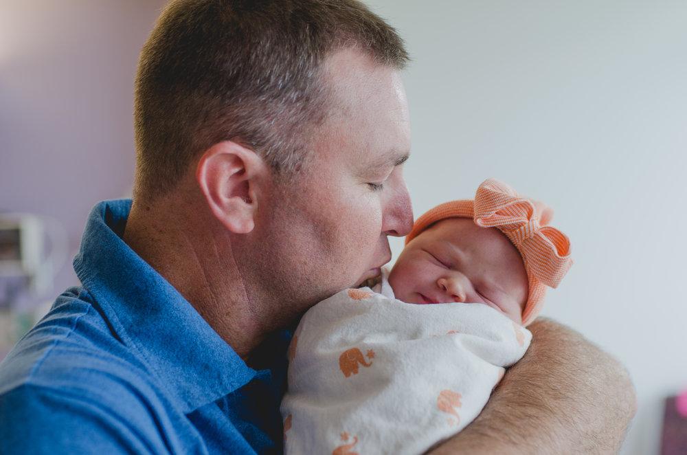 East Valley, AZ Hospital Fresh 48 Newborn Session - Light & Airy Photographer