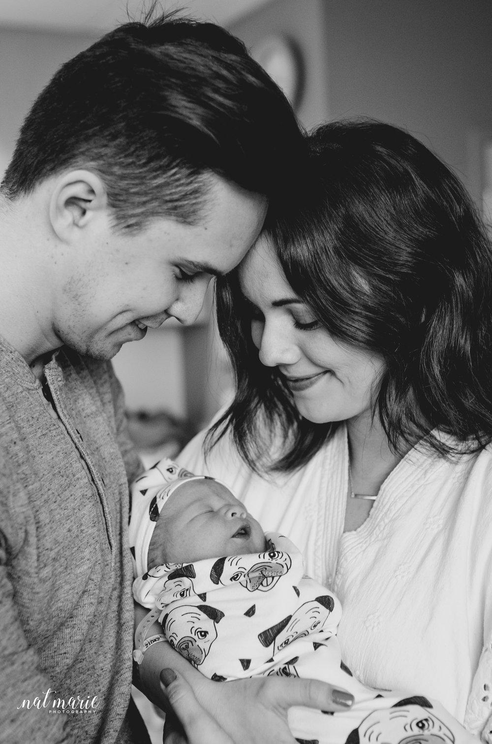 Gilbert, AZ Hospital Fresh 48 Newborn Photographer - Elegant Photos
