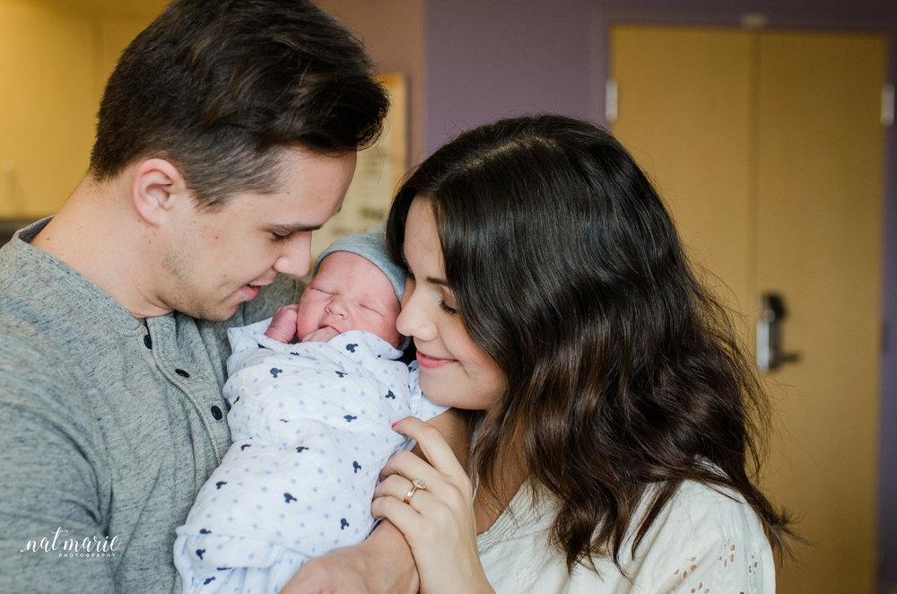 Gilbert, AZ Hospital Fresh 48 Newborn Photographer - Light & Airy Photographer
