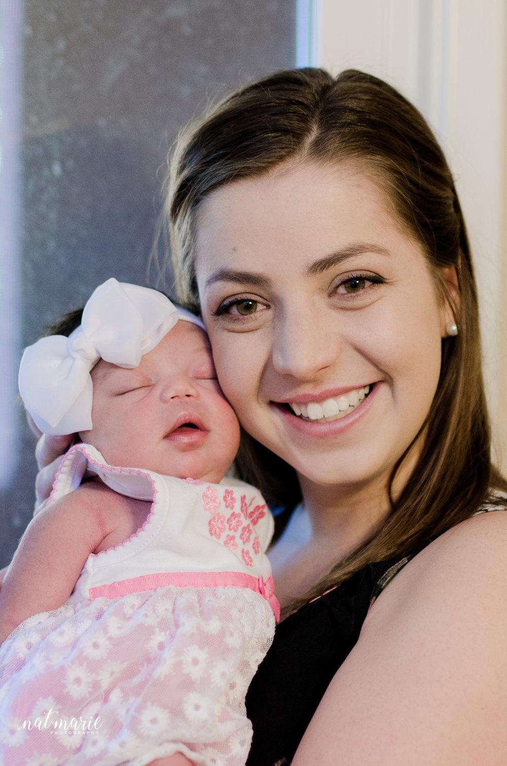 Scottsdale, AZ In-home Lifestyle Newborn Session - Beautiful Photography