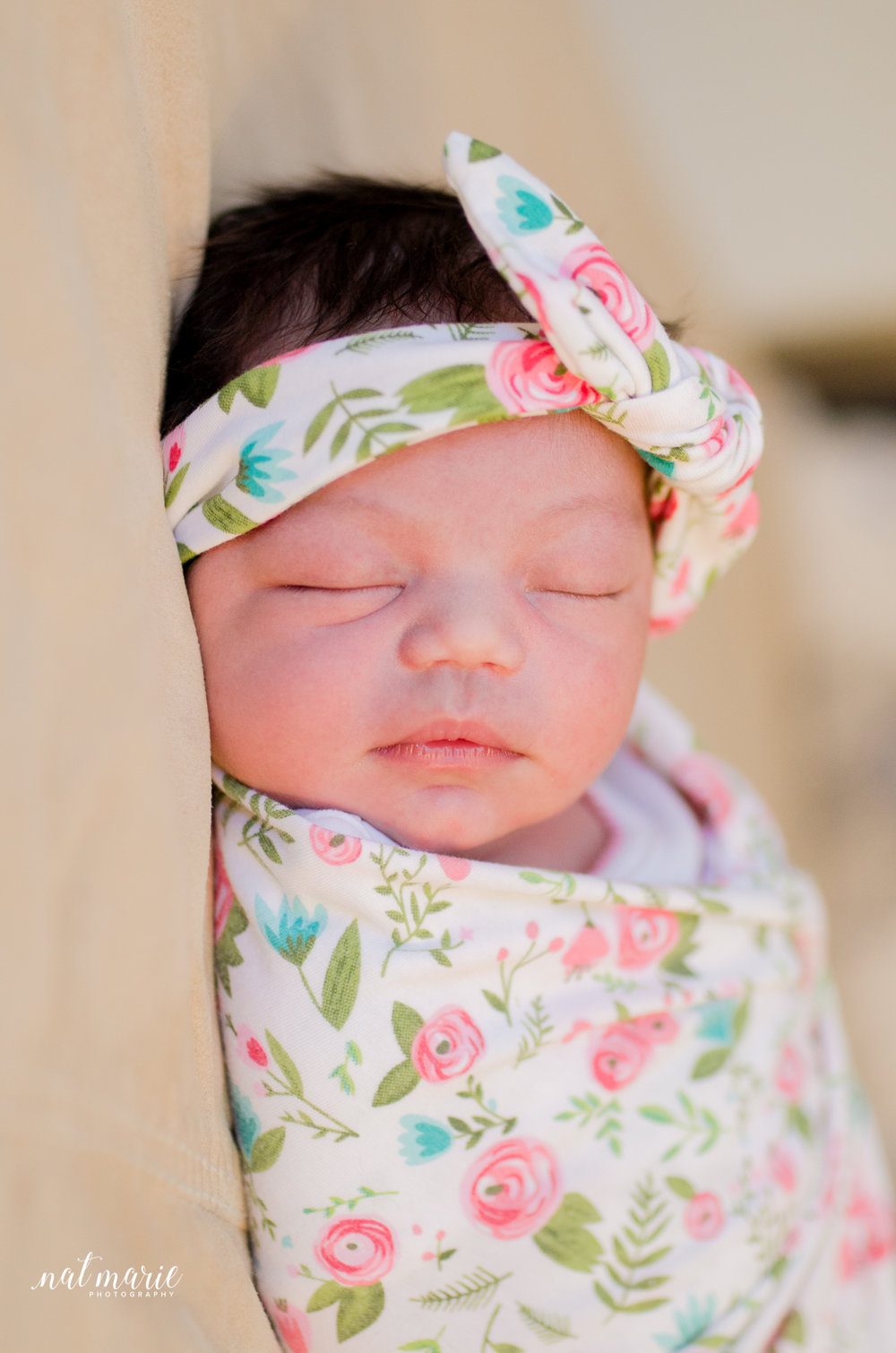Scottsdale, AZ In-home Lifestyle Newborn Session - Bright Photography