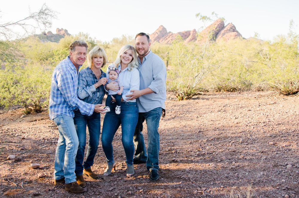 Scottsdale, AZ Family Session - Elegant Photographer