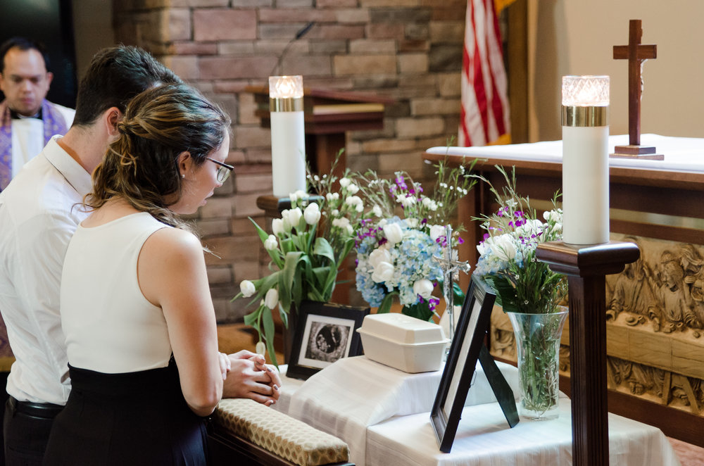 Mesa, AZ - Miscarriage - Burial - Queen of Heaven Cemetery
