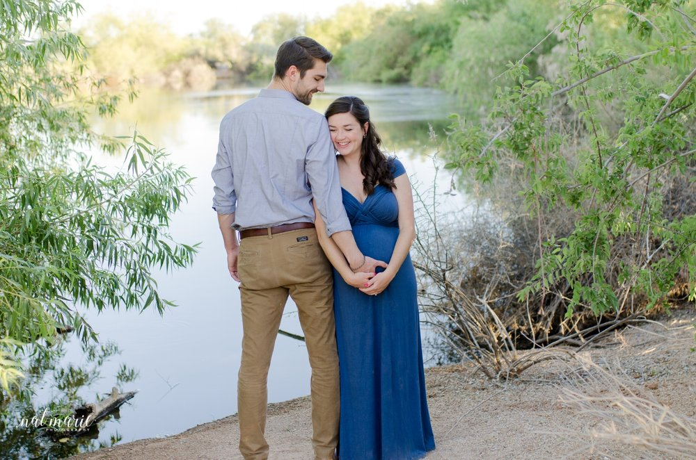 Gilbert, AZ Maternity Session - Light & Airy Photography