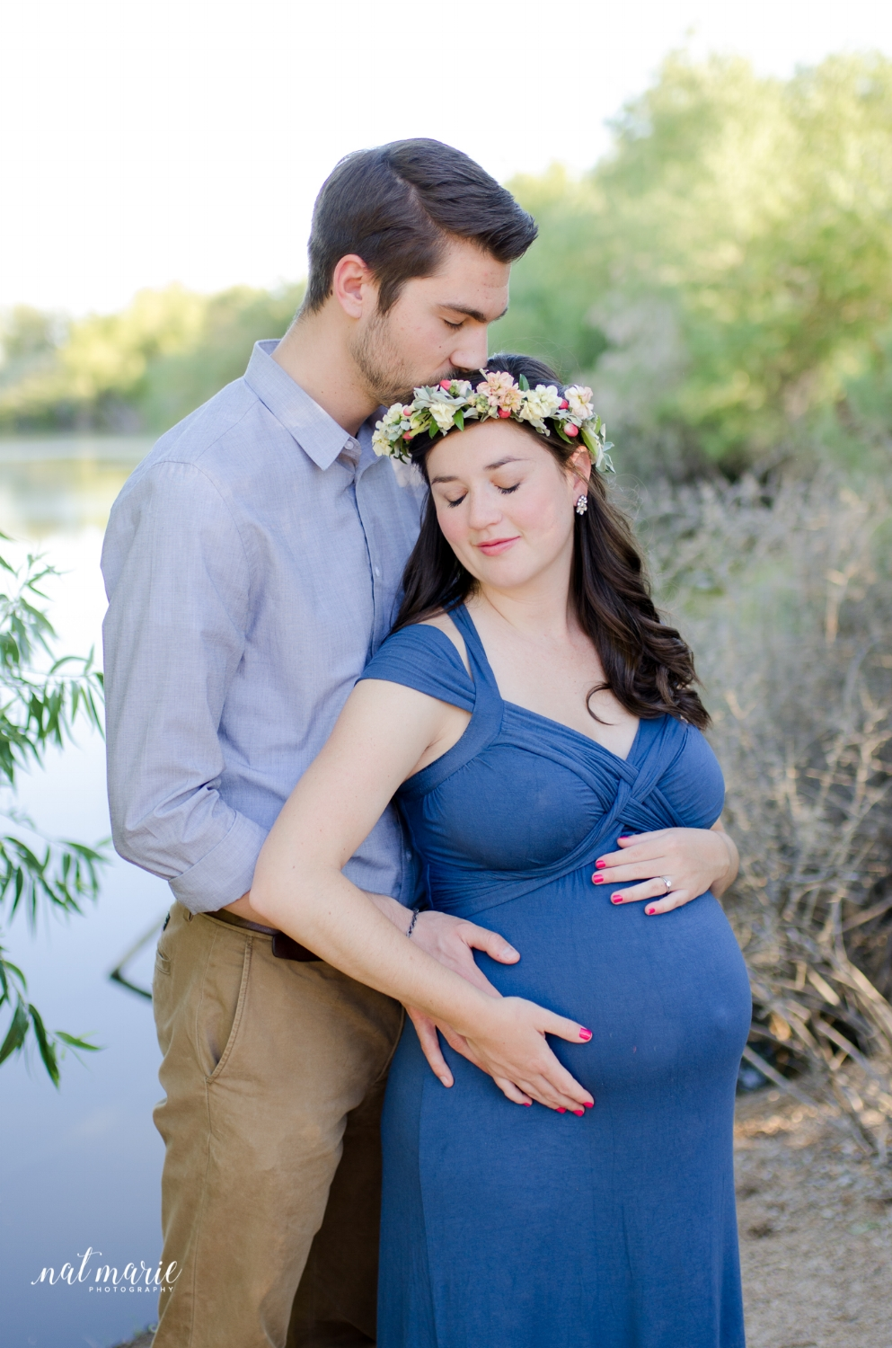 Gilbert, AZ Maternity Session - Light & Airy Photographer