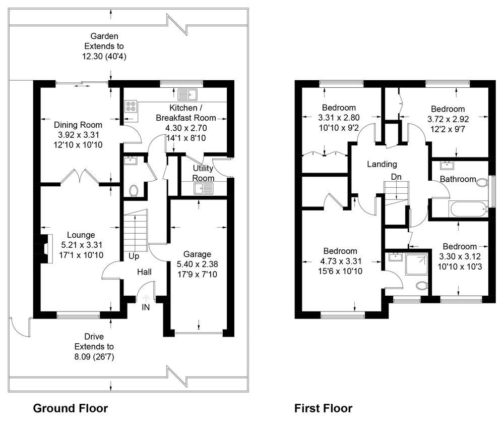 Professional Floorplan Service -