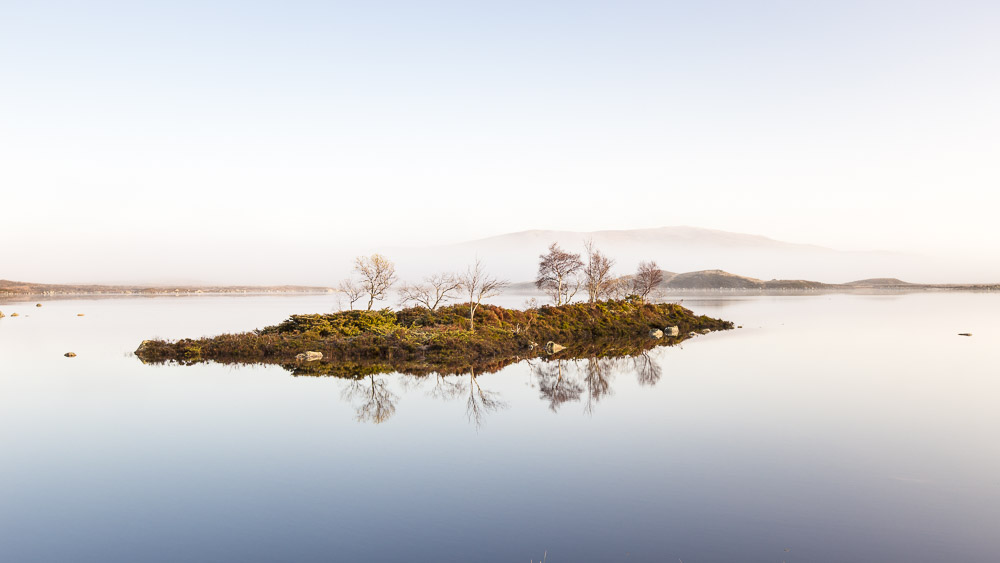 Rannoch Moor Island