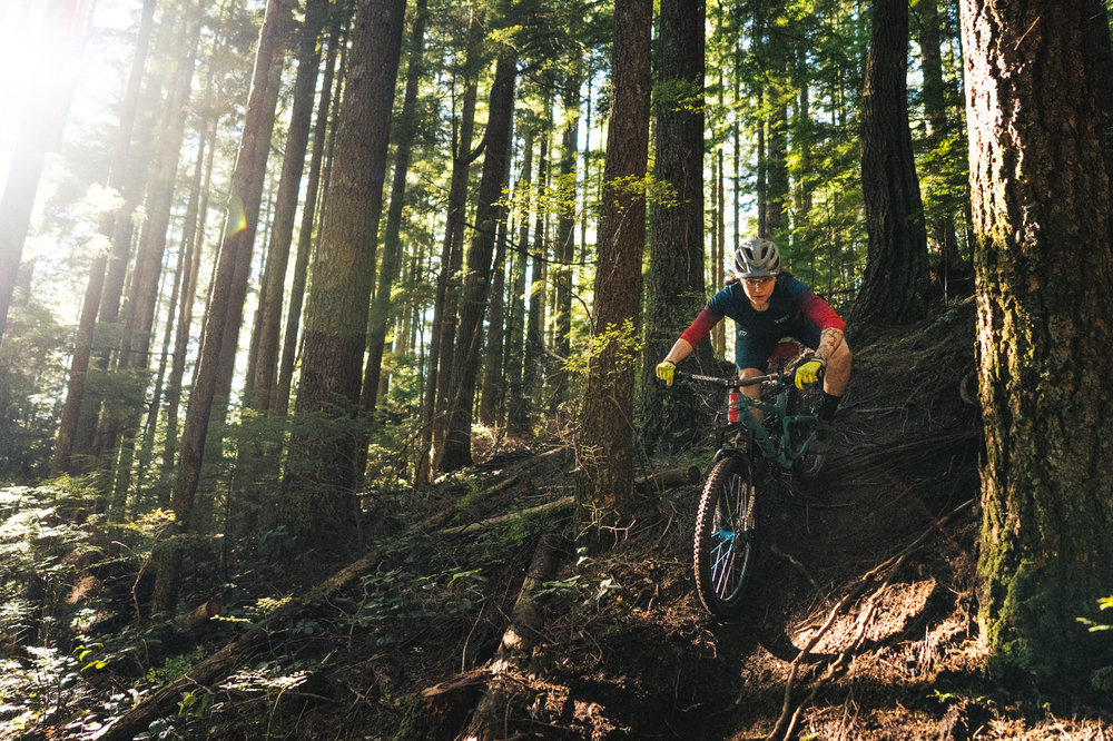 Anne Gaylean - Anne started racing downhill during her senior year of college and spent the next 6 years racing lift-assisted big bikes. She started pedaling while earning her PhD in nanoanalytical chemistry at UNC Chapel Hill and was soon racing pro Enduro aboard the Yeti/Fox National Factory Enduro Team. She spent 2017 winning the Big Mountain Enduro series and Scott Enduro cup series overall pro women titles as well as completing a postdoctoral research project designing nanobiosensors for monitoring oxygen gradients in bacterial biofilms at the Colorado School of Mines. In 2018, Anne took a step back from racing to focus on her science career and she is now a pro ambassador for Yeti, SRAM, Industry Nine, Ergon, Troy Lee Designs, and Dynaplug focusing on coaching and encouraging more women to race bikes. Anne now works full-time as an environmental toxicology consultant in Seattle, WA and is a PMBIA certified mountain bike instructor. She plans to race the 2019 Trans BC and spend more time coaching MTB skills and enduro race-specific clinics.IG: @annegalyeanFB: /annegalyeanpc: Matthew DeLorme (@mdelormephoto)