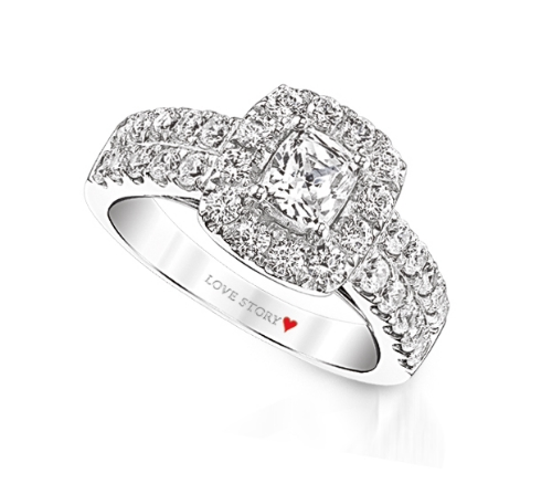 white story productionlist gold price engagement rings ring jewelers and chicago you lustig collection only your love rose cfm