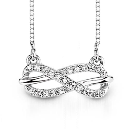 Infinity diamond pendant harry ritchies infinity diamond pendant aloadofball Image collections