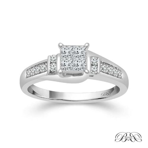 cdda4de251f7ae Beautiful Bride Diamonds® Princess Cut Engagement Ring — Harry Ritchie's