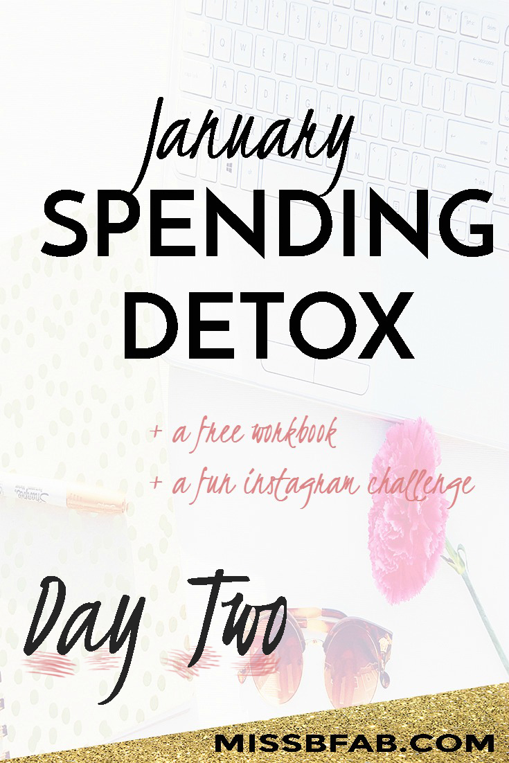 Stick to your new year's resolution and beyond with the 31 day spending detox. In order to start meeting your financial goals you need to cut your spending. There are all areas where we can make cuts. Learn more and join the detox at bit.ly/fabspendcut