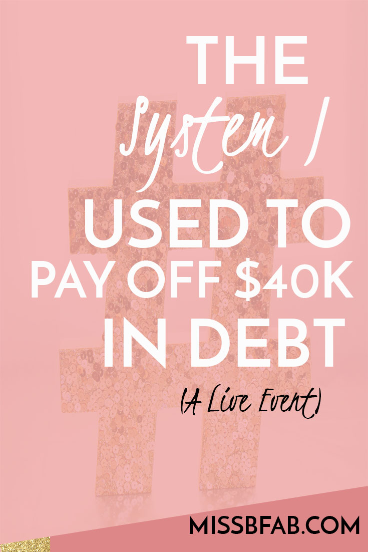 Join Brittany Butler as she shares the EXACT system she used to pay off $40k of debt in 12 months, on one income with 5 people household. It is time for you to get serious about your money. You have to end the cycle of living paycheck to paycheck now! Go to bit.ly/bossbudgetwebinar to sign up for the FREE live event!
