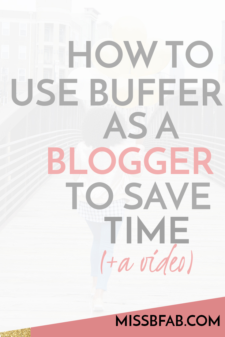 After chatting with the team over at buffer, I learned about an amazing feature they have. As a blogger and someone who is posting content daily, you want an easy system to do so. So check out this time saving way to use buffer to share your content within seconds.