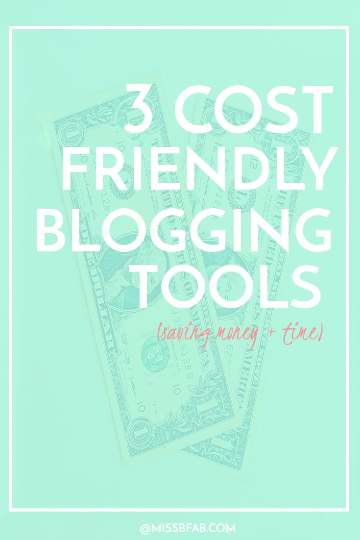 If you are starting a new blog or seasoned blogger, you want to get the most out of your purchases. I share 3 cost friendly tools you can use to that save me time and money. You can also download a list of my 7 favorite cost friendly tools I use daily to run my blog biz. Click to read more!