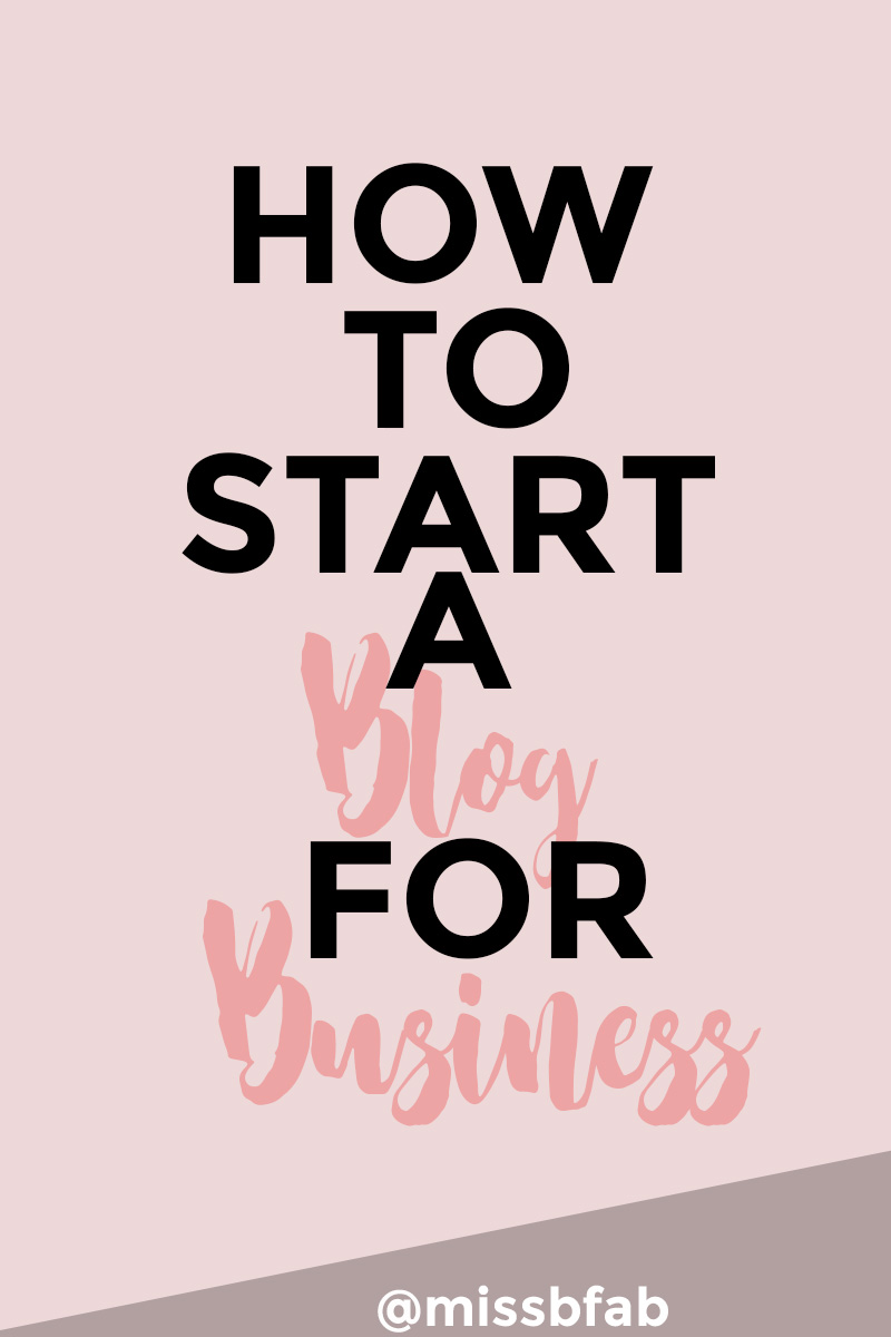 How To Start A Blog For Business- This Blog Post is for aspiring entrepreneurs and online creative who want to blog for business. There is a difference between blogging for a hobby versus for business. Click through to read  how to get started