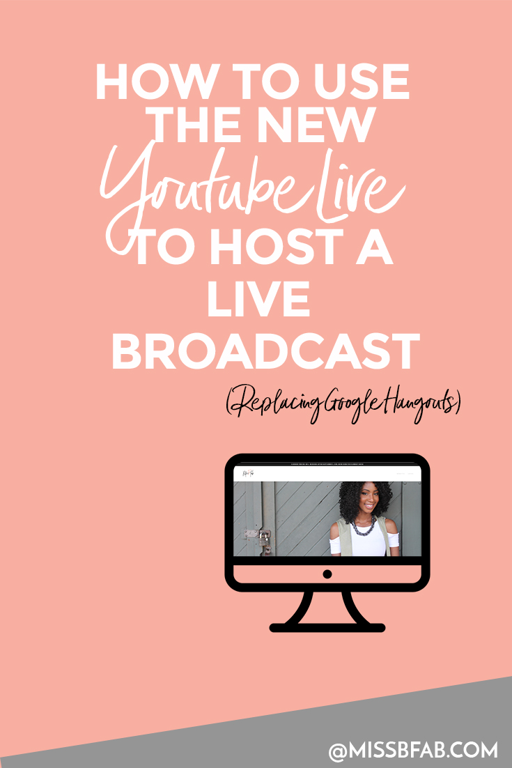 How To Go Live On Youtube After Using Google Hangouts- If you were using google hangouts on air to broadcast live for webinars or live class, this is how you can start using Youtube Live!