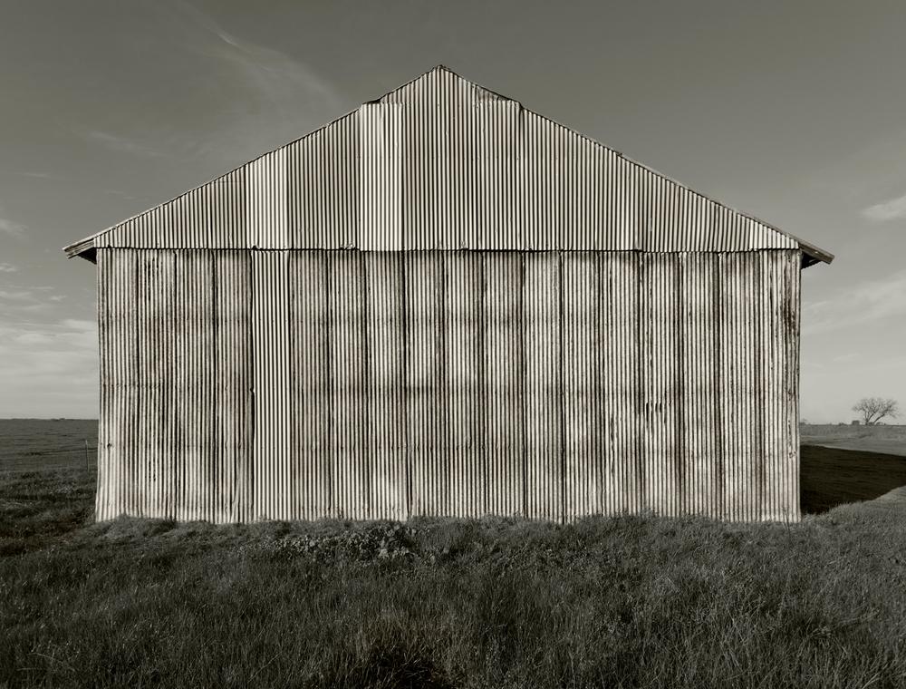 Corrogated barn