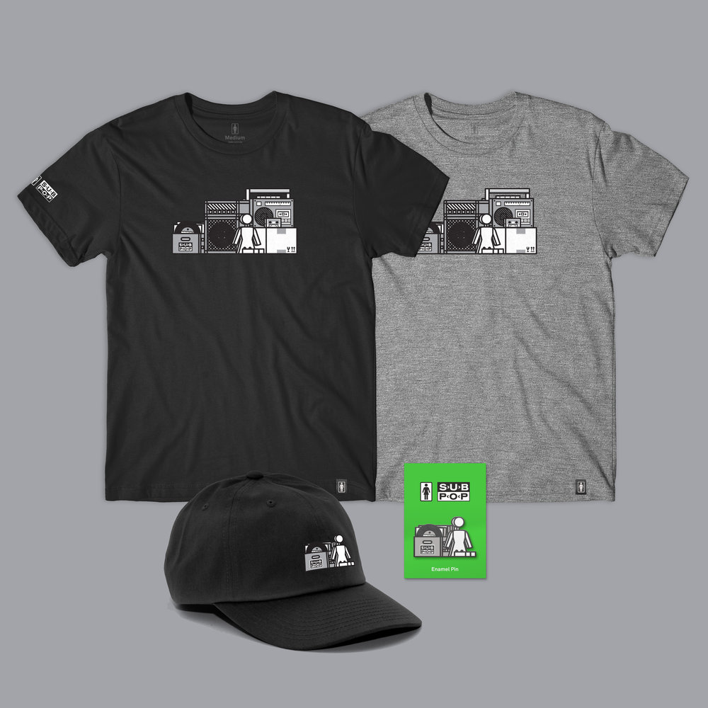 Girl Sub Pop Shelf TriBlend Tee + Accessories.jpg