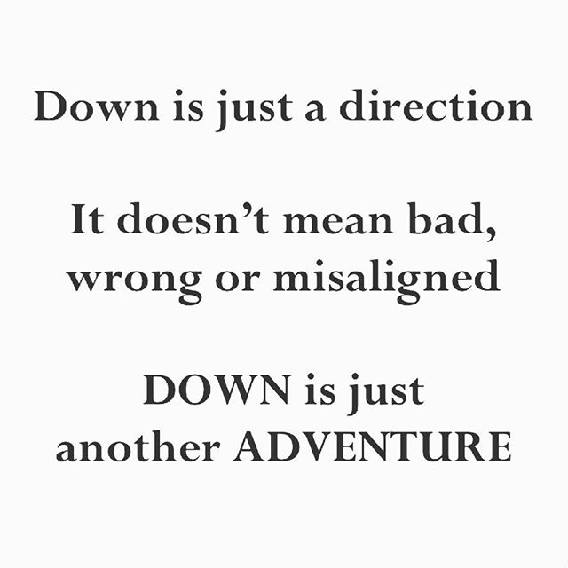 Downfall or Opportunity? 🙌🏻 What if we saw every perceived downfall as a different type of adventure? By removing our negative value judgements of unplanned stressors, we support our mental pivot from perceiving a huge failure to instead seeing a huge opportunity.