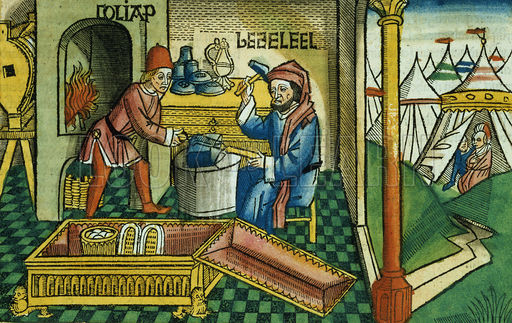 A visual depiction of Betzalel and Oholiav, two early examplars of Jewish creativity. Credit: A Trivial Devotion Blog