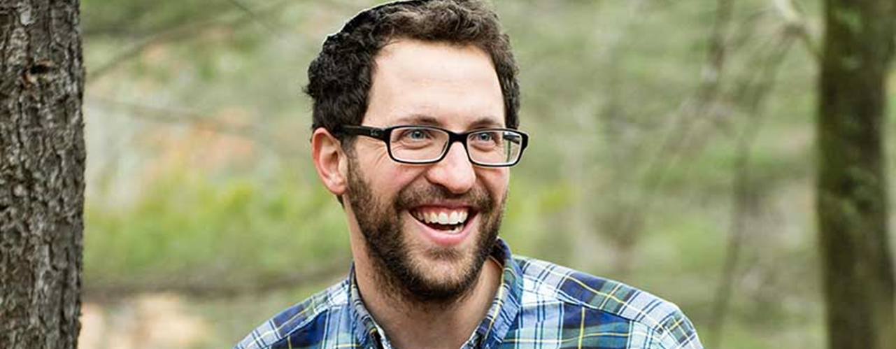 Portrait Of Blessing Orthodox Jewish Man