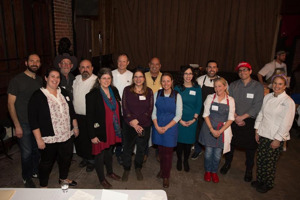 Organizers of Trefa Banquet 2.0 - Image Credit: Lydia Daniller