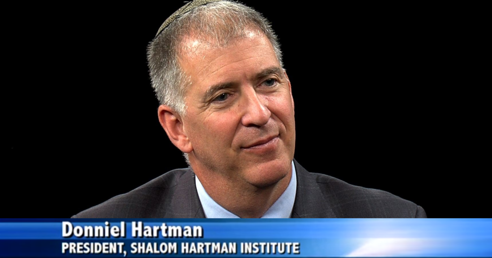 Episode 135: Putting God Second - Donniel Hartman