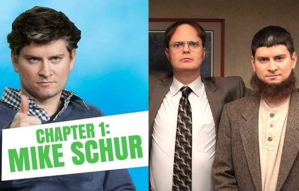 "Mike Schur, creator of The Good Place, played ""Mose"" on The Office Image Credit: Den of Geeks"