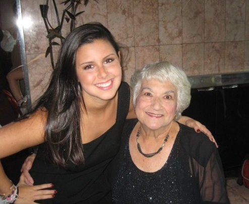 Grandma and I at her 85th Birthday! Doesn't she look amazing?!