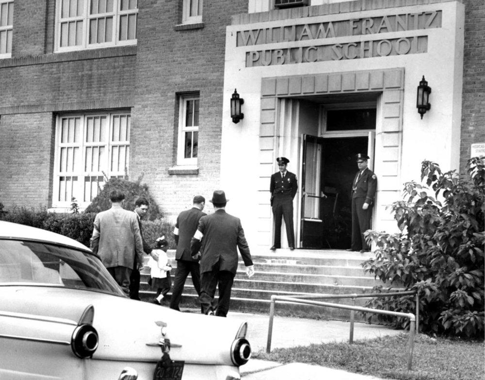 Ruby Bridges Entering School
