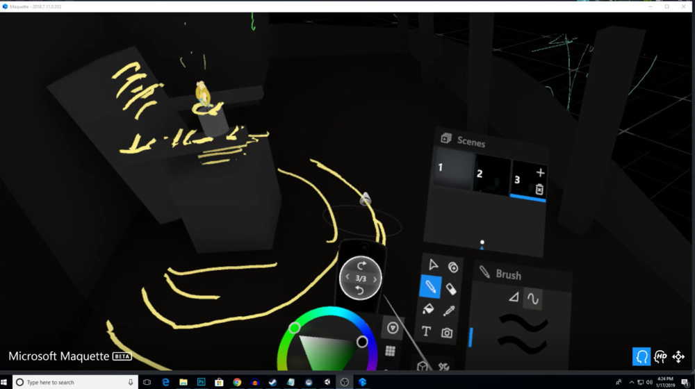 Virtual Storyboarding