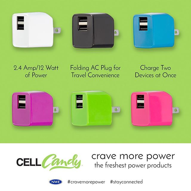 Colorful, compact, higher power. #CellCandy adds flare to anything http://ow.ly/JTJt30dSO87