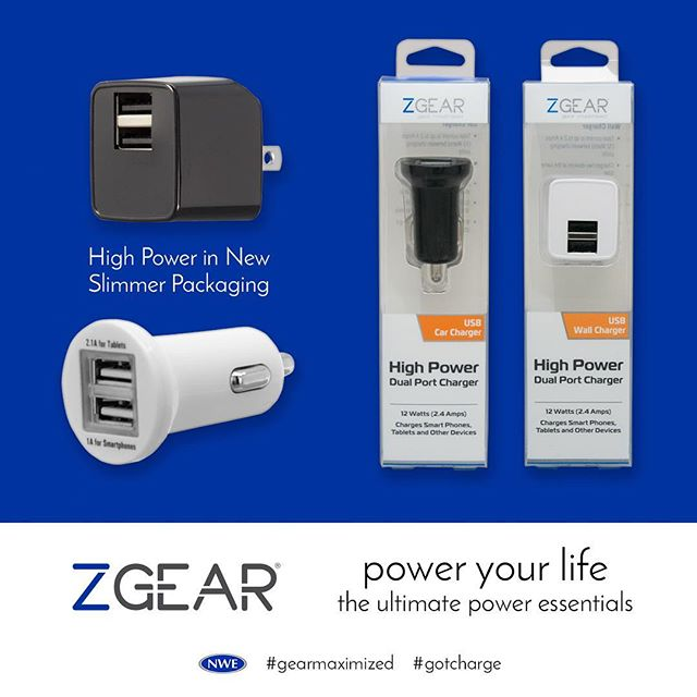 Power packed in a compact charger. Now in #zgear slim, sleek packaging http://ow.ly/YeG030fkozl , http://ow.ly/ebQs30fkoAp