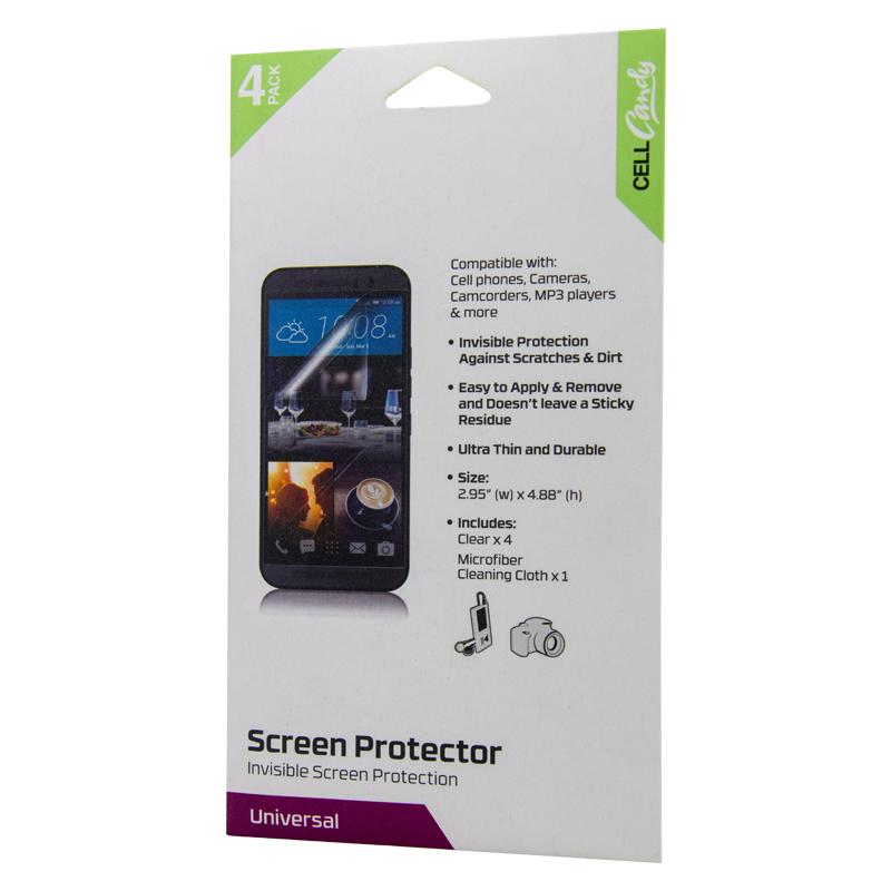 Universal 4-pk Screen Protector