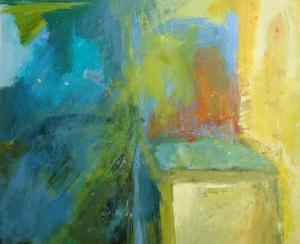 Chair #4, 14x17