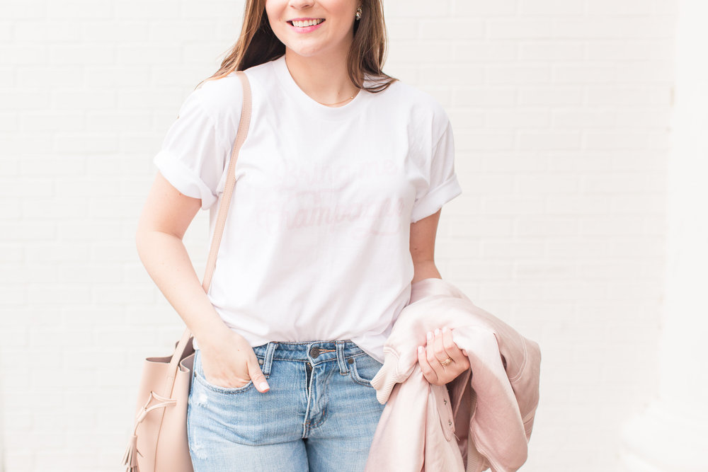 Casual In Blush // sarahmecke.com