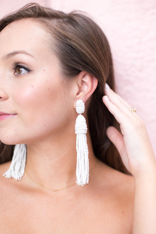 Oscar de la Renta earrings // sarahmecke.com